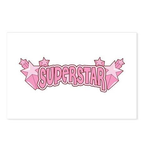 SuperStar [pink] Postcards (Package of 8)