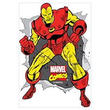 Iron Man Ripped Wall Art