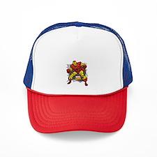 Iron Man Ripped Trucker Hat