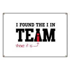 I found the I in team Banner