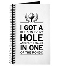 I got a hole in one ponds Journal
