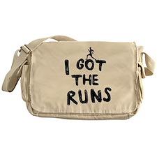 I got the runs Messenger Bag