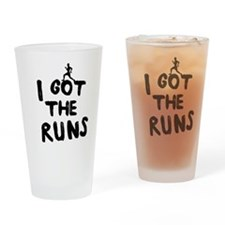 I got the runs Drinking Glass