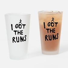 I got the runs Drinking Glass