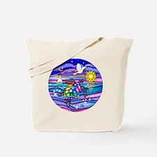 Unique Sea turtle Tote Bag