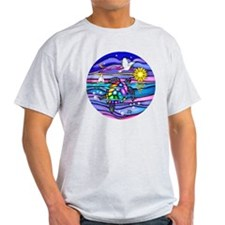 Funny Colorful turtle T-Shirt