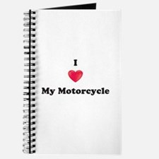 I Love My Motorcycle Journal