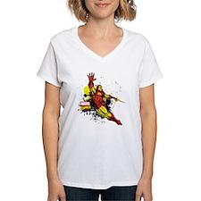 Iron Man Paint Splotch Shirt