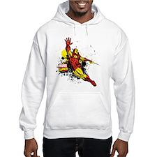 Iron Man Paint Splotch Hoodie
