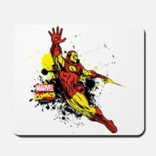 Iron Man Paint Splotch Mousepad