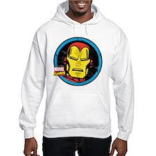 Iron Man Face Hoodie