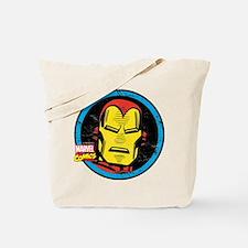 Iron Man Face Tote Bag