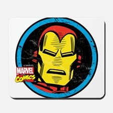 Iron Man Face Mousepad