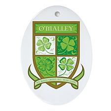 O'MALLEY Ornament (Oval)