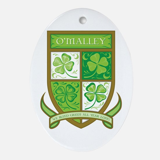 O'MALLEY Ornament (Oval)