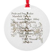 Cute Austen Ornament