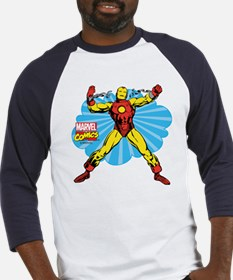Iron Man Cloud Baseball Jersey