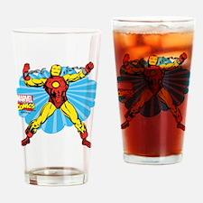 Iron Man Cloud Drinking Glass