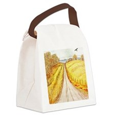 Fall Scenery Canvas Lunch Bag