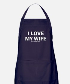 I Love It When My Wife Lets Me Home Brew Apron (da