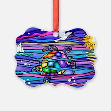 Cute Sea Picture Ornament