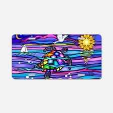 Cute Sea turtles Aluminum License Plate
