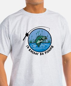 Rather Be Fishing T-Shirt