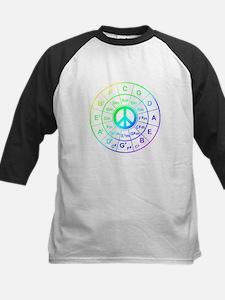 Peace Circle of 5ths Baseball Jersey