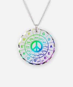Peace Circle of 5ths Necklace
