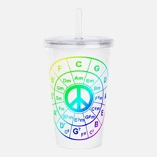 Peace Circle of 5ths Acrylic Double-wall Tumbler