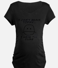 I Can't Brain Today T-Shirt