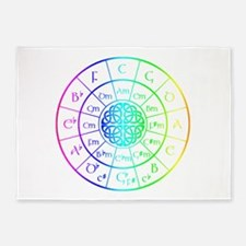 Circle Of Fifths Rugs Circle Of Fifths Area Rugs Indoor