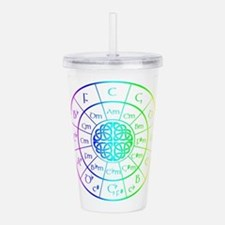 Celtic Circle of 5ths Acrylic Double-wall Tumbler