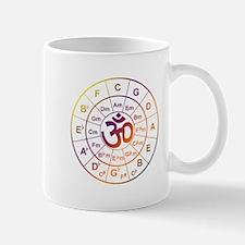 Ohm Circle of 5ths Mugs