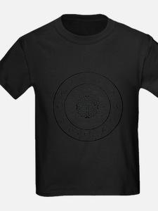 Celtic-blk Circle of 5ths T-Shirt