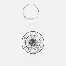 Celtic-blk Circle of 5ths Keychains