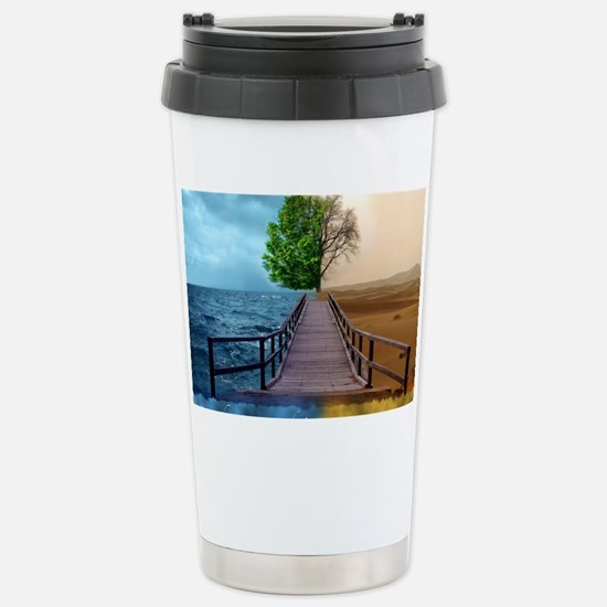 waterdesert Stainless Steel Travel Mug
