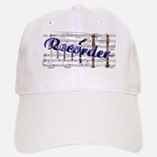 Recorder Baseball Baseball Cap