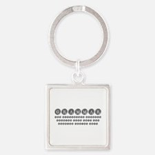 grammar-difference-shit-type-gray Keychains