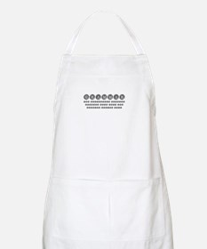 grammar-difference-shit-type-gray Apron