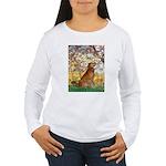 Spring & Golden (#12) Women's Long Sleeve T-Shirt