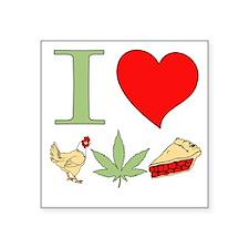 I Love Chicken Pot Pie Sticker