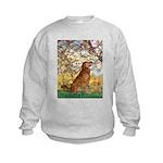 Spring & Golden (#12) Kids Sweatshirt