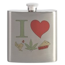 I Love Chicken Pot Pie Flask