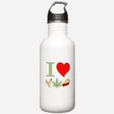 I Love Chicken Pot Pie Water Bottle