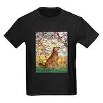 Spring & Golden (#12) Kids Dark T-Shirt