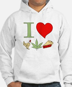I Love Chicken Pot Pie Hoodie