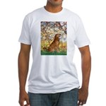 Spring & Golden (#12) Fitted T-Shirt