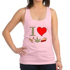 I Love Chicken Pot Pie Racerback Tank Top