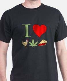 I Love Chicken Pot Pie T-Shirt